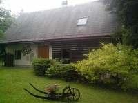 Chalupa - zahrada - ubytování Chvaleč