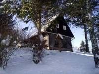 U nás v zimě (když je sníh) - pronájem chalupy Chvaleč