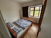 2. ložnice - apartmán k pronájmu Hertvíkovice