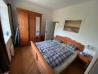2. ložnice - apartmán ubytování Hertvíkovice