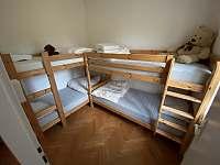 Dětský pokoj - apartmán k pronajmutí Hertvíkovice