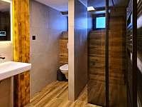 dámská koupelna s toaletou - Harrachov - Ryžoviště