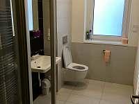 Koupelna v přízemí - apartmán k pronajmutí Pec pod Sněžkou