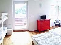 Světlý pokoj - pronájem apartmánu Pec pod Sněžkou