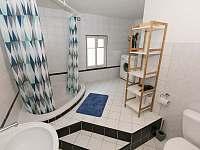 koupelna s vanou - Horní Maršov