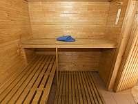 sauna - chalupa k pronájmu Horní Maršov