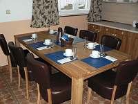 jídelna - ubytování Horní Branná