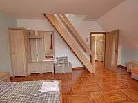 ložnice - ubytování Horní Branná