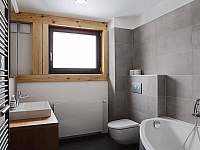 Apartmán 1 - koupelna - k pronajmutí Černý Důl