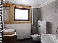 Apartmán 1 - koupelna - Černý Důl