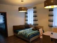 Obývací pokoj - apartmán ubytování Roudnice v Krkonoších