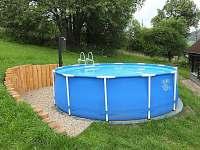 bazén - chalupa k pronájmu Rokytnice nad Jizerou