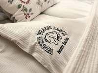 Detail ložního prádla