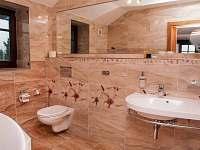 Koupelna pokoje Helenka