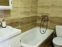 Koupelna pokoj 0 - chalupa k pronajmutí Vítkovice v Krkonoších