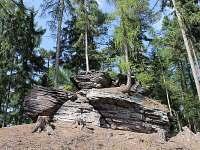 Kryštofovy kameny - pronájem chalupy Radvanice - Slavětín
