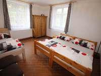 Pokoj 3 lůžka - chalupa k pronájmu Radvanice - Slavětín