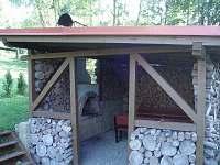 Pergola + krb - chalupa ubytování Vysoké nad Jizerou