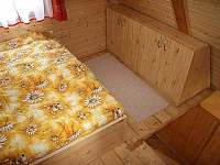 ložnice 1 - chata ubytování Dolní Dvůr