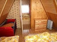 ložnice 2 - chata k pronájmu Dolní Dvůr