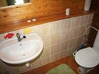 WC - pronájem chaty Dolní Dvůr