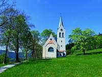 Evangelický kostelík ve Strážném -