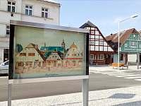 Náměstí míru ve Vrchlabí - chalupa k pronajmutí Strážné