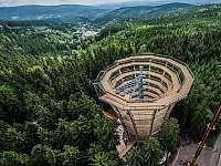 Stezka korunami stromů v nedalekých Janských Lázních - Strážné