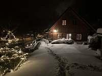 zima 2021 - chalupa ubytování Pec pod Sněžkou