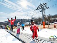 Ski resort Černý Důl