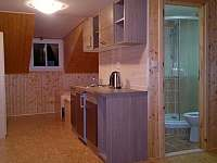 Apartmán č.3 - kuchyňka + koupelna