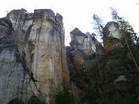 Adršpašské skály cca 25km. od chaty - Prkenný Důl