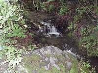 potok v zahradě - Prkenný Důl