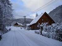 zima - chata k pronájmu Prkenný Důl