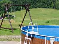 Bazén - chalupa ubytování Benecko