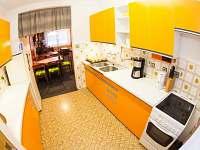 Kuchyň - pronájem chalupy Benecko