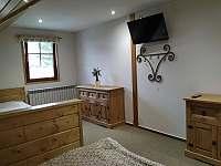 Ložnice č.1 - apartmán k pronajmutí Svoboda nad Úpou