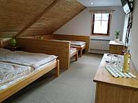 Ložnice č.1 - apartmán k pronájmu Svoboda nad Úpou
