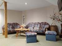 Obývací pokoj - pronájem apartmánu Svoboda nad Úpou