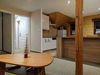 Obývací prostor - pronájem apartmánu Svoboda nad Úpou