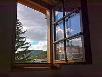 Výhled z okna na Černou horu - ložnice č.1 - Svoboda nad Úpou