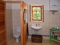 Koupelna - pronájem chaty Vysoké nad Jizerou