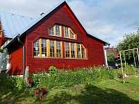 zahrada 2020 - chata ubytování Vysoké nad Jizerou