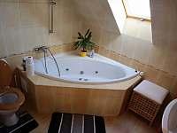 koupelna - apartmán ubytování Lánov