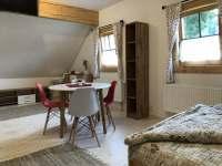 Pokoj s kuchyňským koutem - apartmán ubytování Pec pod Sněžkou