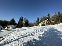 Zimní foto - pronájem chaty Harrachov