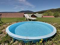 bazén - chalupa ubytování Horní Malá Úpa