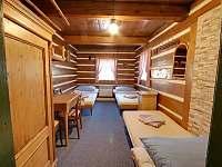 ložnice - chalupa ubytování Horní Malá Úpa