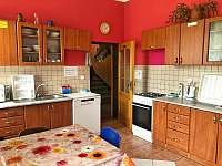 Kuchyň - chata k pronájmu Janské Lázně