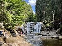 Asi nejznámější Mumlavský vodopád v Harrachově. - Rokytnice nad Jizerou - Vilémov